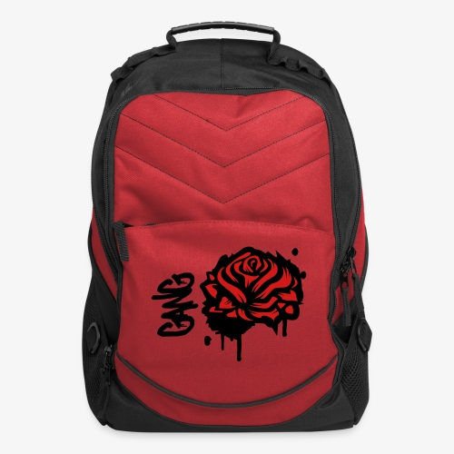 Rose bookbag - Computer Backpack