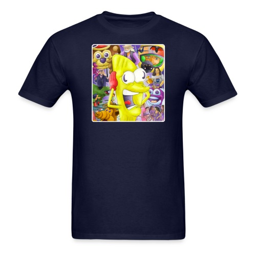 Taco-Man Plays DVD Vol 1 Cover - Men's T-Shirt