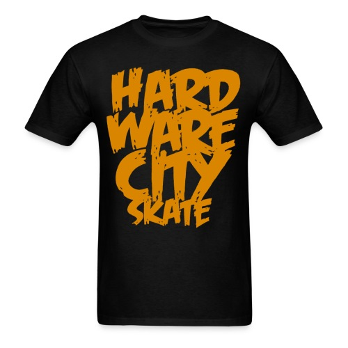 Hard Ware City Skate - Men's T-Shirt