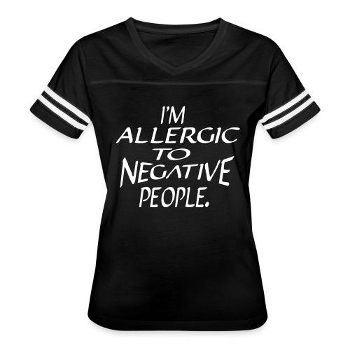 Allergic - Women's Vintage Sport T-Shirt