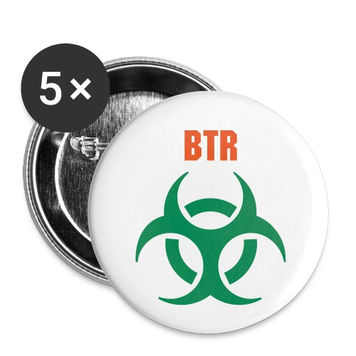 BTR Rave Crew Buttons - Large Buttons