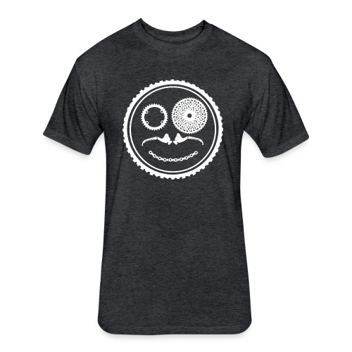 Fitted Circle Logo T - Fitted Cotton/Poly T-Shirt by Next Level