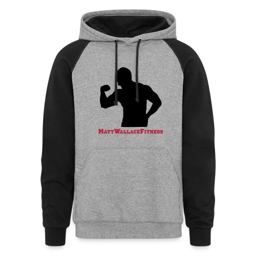 Men's 2-Color Hoodie - Colorblock Hoodie