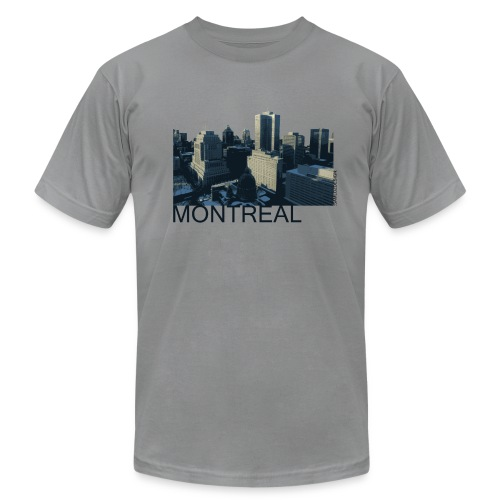 Montreal city - Men's Fine Jersey T-Shirt