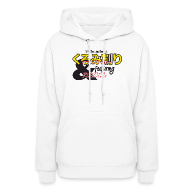 Hoodies ~ Women's Hooded Sweatshirt ~ Changing Channels Nutcracker
