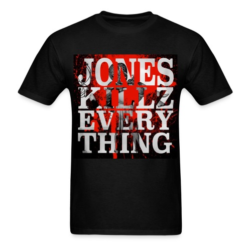 Jones Killz Everything logo  - Men's T-Shirt
