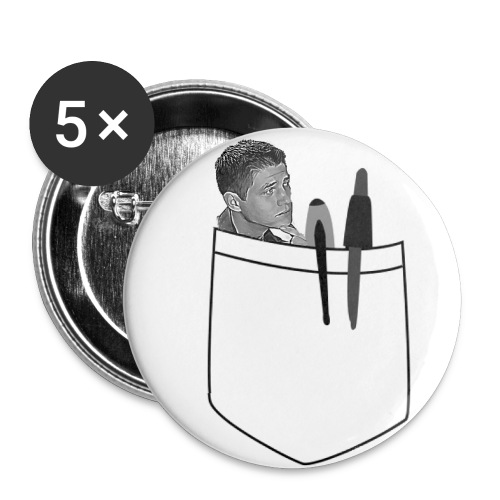 Pocket Scoot Set of Five 1 Buttons - Small Buttons