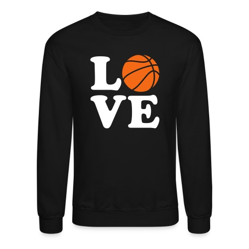 Love Basketball - Crewneck Sweatshirt