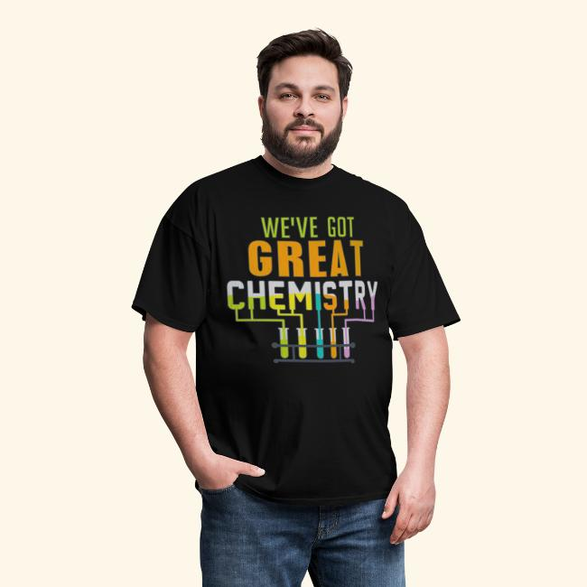 Couples Funny Chemistry T Shirt
