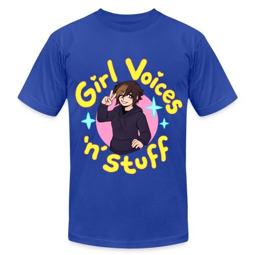 Girl Voices 'n' Stuff - Men's AA T-Shirt - Men's Fine Jersey T-Shirt