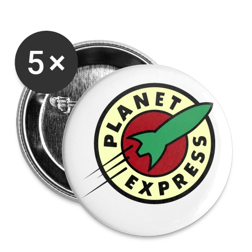 Planet Express large buttons - Large Buttons