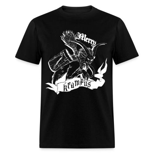 Merry Krampus (white) - Men's T-Shirt