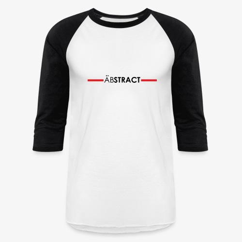 Abstract Black- Fellas Baseball Tee - Baseball T-Shirt