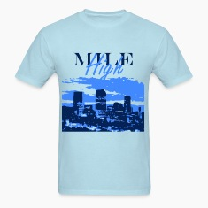 Denver- Mile High Skyline T-Shirts