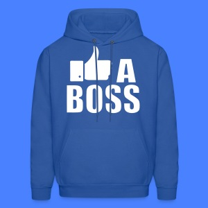 Like A Boss Thumbs Up Hoodies - Men's Hoodie