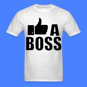 Like A Boss Thumbs Up T-Shirts - Men's T-Shirt