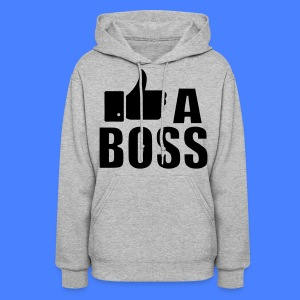 Like A Boss Thumbs Up Hoodies - Women's Hoodie