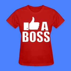 Like A Boss Thumbs Up Women's T-Shirts - Women's T-Shirt