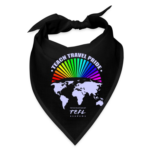 Teach Travel Pride Bandanna  - Bandana