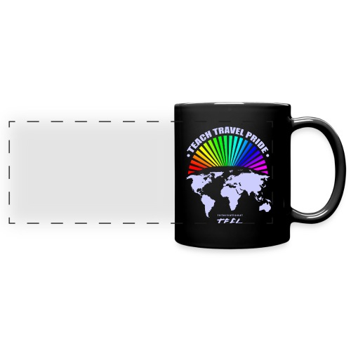Teach Travel Pride Mug - Full Color Panoramic Mug