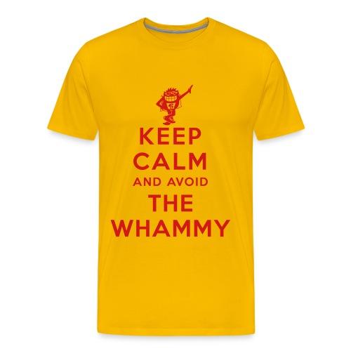 Keep Calm and Avoid the Whammy - Men's Premium T-Shirt