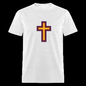 Men's T-Shirt Wine Gold Blue Cross Hot! - Men's T-Shirt