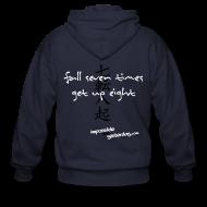 Zip Hoodies & Jackets ~ Men's Zip Hoodie ~ Fall Seven Times