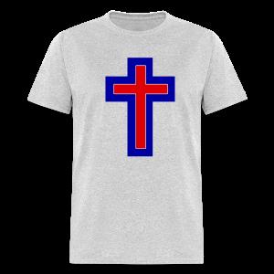Men's T-Shirt Blue Orange White Hot! - Men's T-Shirt