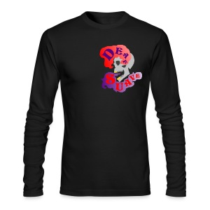Men's Long Sleeve T-Shirt by Next Level - Death Deaf cool awesome hot design zodiac Chinese d x s ds dxs art creative swagg suave swag Christian Mendez