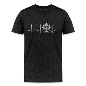 Technology Teacher Heartbeat - Men's Premium T-Shirt