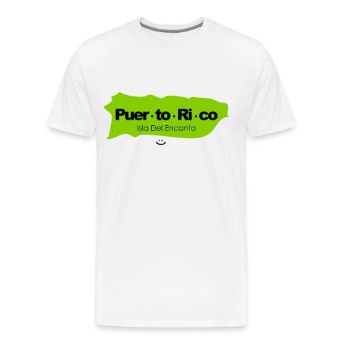 Puerto Rico Isla del Encanto - Men's Premium T-Shirt