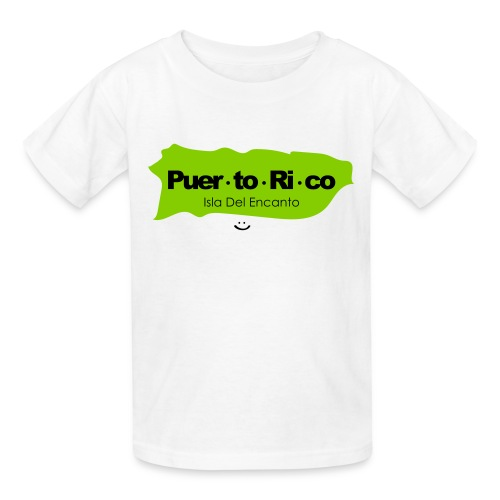 Puerto Rico Isla del Encanto - Kids' T-Shirt