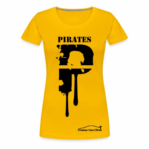 Pirates8 - Women's Premium T-Shirt
