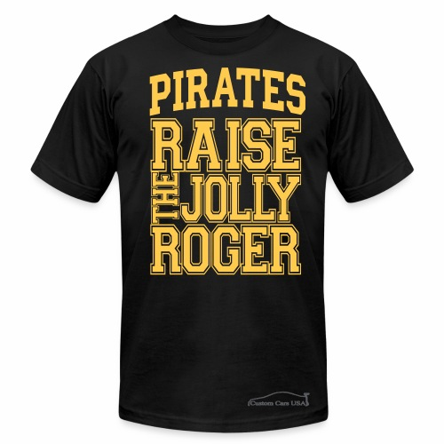 Pirates4 - Men's  Jersey T-Shirt