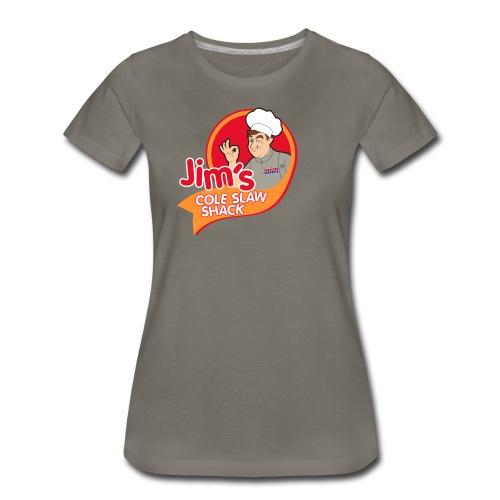 Jim's Coleslaw Shack WOMENS - Women's Premium T-Shirt