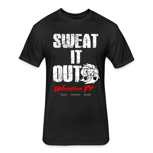 Sweat it out Men's Tee - Fitted Cotton/Poly T-Shirt by Next Level