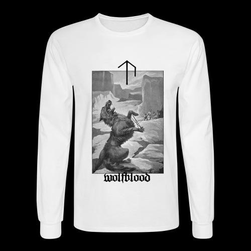 Uppsalan Temple LS with Back Print - Men's Long Sleeve T-Shirt