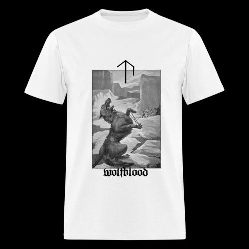 Uppsalan Temple T Shirt w Back Print - Men's T-Shirt