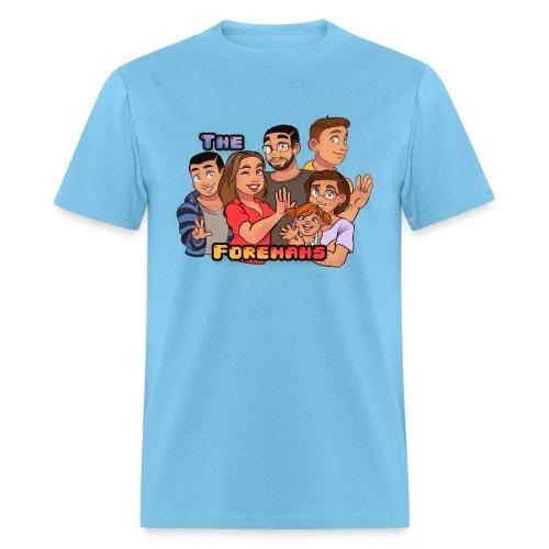 The Foremans Tee (Wording) - Mens - Men's T-Shirt