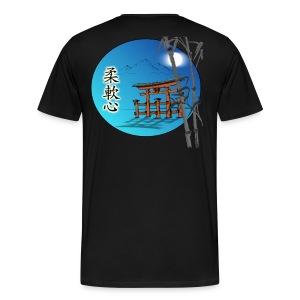 Men's Ju Nan Shin T-Shirt - Logo on back - Men's Premium T-Shirt