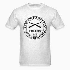 Men's Army Infantry Crest T Shirt