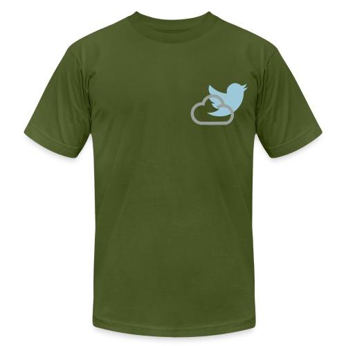 Twitter Shirt - Men's Fine Jersey T-Shirt