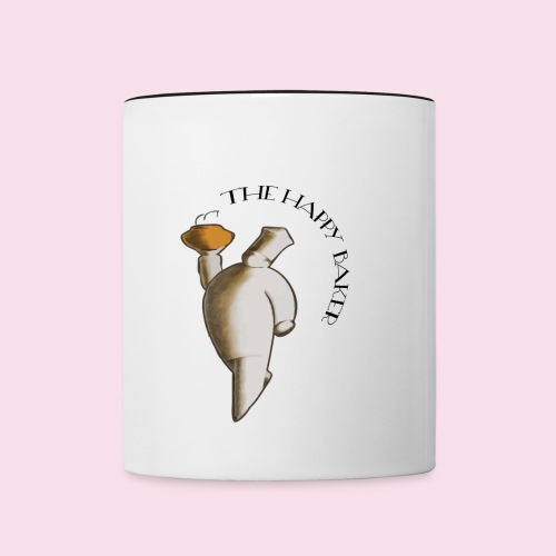 The Happy Baker Coffee Mug - Contrast Coffee Mug