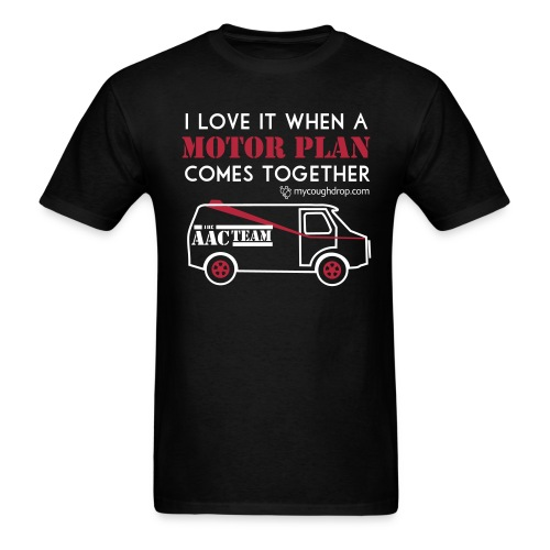 Men's Motor Plan - Men's T-Shirt