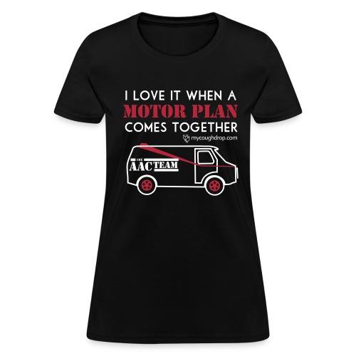 Women's Motor Plan - Women's T-Shirt