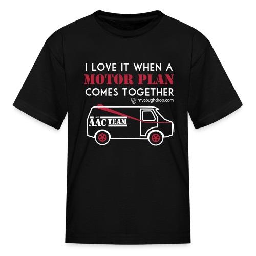 Kid's Motor Plan - Kids' T-Shirt