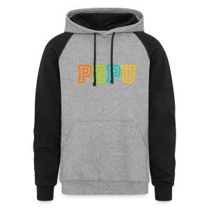 P2PU hoodie - Colorblock Hoodie