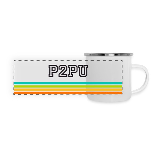Striped mug - Panoramic Camper Mug