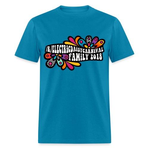 EDC Reddit Family: 2018 - Men's Shirt - Men's T-Shirt