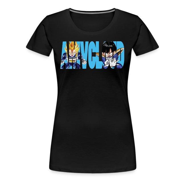 Amvcloud DBZ Logo Women's Premium T-shirt